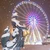 La roue à neige (hugues mitton) Tags: neigehiver placedelaconcorde paris fontainedesmers granderoue