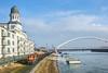 Danube cat | 742.256 | Bratislava - Zimný prístav (lofofor) Tags: diesel 742 256 lokorail zsskcargo cargo kocúr vlečka prístav zimnýprístav eurovea mólo sklad7 port river danube dunaj most bridge apollo tower stock warehouse