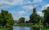 Dutch Milling (MrTheEdge7) Tags: netherlands nederlands leiden nl holland zuidholland dutch windmill river clearskies trees tree clouds
