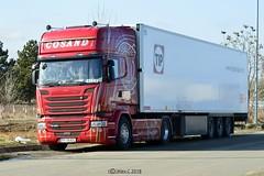 DSC_0182 (Costin_27) Tags: scania v8 cosand romania truck camion transport duba frig frigorifica transportation transporturi red