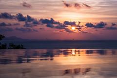 Reflection (Rainbow 4A) Tags: reflection sunset sea thailand samui nikon d810 240700 mm f28
