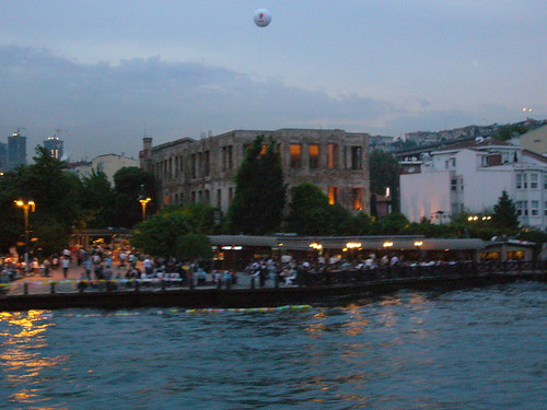 Istanbul, Ortakoy from Bosphorus boat tour [10.06.2011]