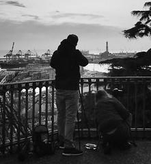"""Work In Progress"" (giannipaoloziliani) Tags: nikon raw nikonphotography nikoncamera liguria lightandshadow streetphotography skyline sky horizon shoots shooting view artists photographers spianatacastelletto castelletto italy italia biancoenero blackandwhite capturestreets genova genoa workinprogress"