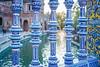 Ceramics (Hilde Carmans) Tags: colorful colors ceramics porcelain azulejos plazadeespana andalusia andalucia espana spain seville sevilla monument history blue yellow old
