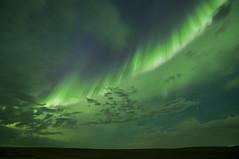 Wall of Aurora (Len Langevin) Tags: aurora borealis northernlights alberta canada bigsky nikon d300s tokina 1116 night longexposure