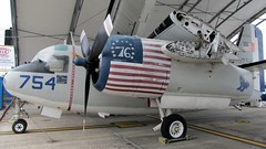 """Grumman C-1A Trader 2 • <a style=""""font-size:0.8em;"""" href=""""http://www.flickr.com/photos/81723459@N04/26695931328/"""" target=""""_blank"""">View on Flickr</a>"""