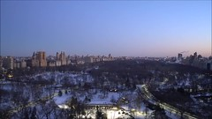 Central Park Sunrise Time Lapse (Michael.Lee.Pics.NYC) Tags: newyork centralpark video timelapse sunrise aerial parklanehotel hotelwithview architecture cityscape sony a7rm2 zeissloxia21mmf28