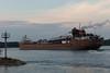 James L. Oberstar entering Sault Ste. Marie Lock (KRFoto) Tags: transportation upperpeninsula ship jamesloberstar saultstemarie lakefreighter michigan