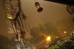 Fog Experimental Dreamcatcher (blackunigryphon) Tags: bohochic bohemian bohodecor bohostyle dreamcatcher gypset gypsetter fog foggy experimental night evening