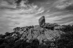 heart made of granite (Super G) Tags: nikon309 carmelbythesea california 2018 pointlobosstatenaturalreserve granitepoint rock stone sky clouds