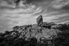 heart made of granite (Super G) Tags: nikon309 carmelbythesea california 2018 pointlobosstatenaturalreserve granitepoint rock stone sky clouds
