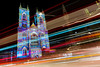 Lumiere (PeteWPhotography) Tags: westminster abbey lumiere festival long exposure light trail colour bright
