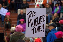 Mueller Time (swong95765) Tags: smile sign signage political trump people sentiment protest