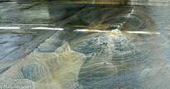 Burst Water Main (M C Smith) Tags: main pentax istd lines white flowing silt mud cracking waves burst