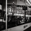 lost in mind (Gerard Koopen) Tags: amsterdam noordholland nederland nl netherland city capital woman lostinmind tram reflections reflecties gvb centraalstation centralstation cs candid straat street straatfotografie streetphotography nikon d810 35mm 2018 gerardkoopen