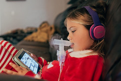 4 (linseydavis1) Tags: asthma children nebulizer red winter