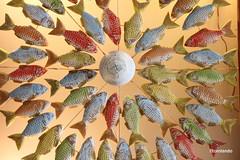 La parábola de la multiplicación. II (Fito Rolando) Tags: peces parábola brasil natal playa artesania colores dispersión