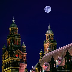 Buckie Moon Over Glasgow [Explored 2/2/18- Thank You!] (john&mairi) Tags: blood bloodless blue super moon glasgow kelvingrove museum art gallery night nocturnal scotland buckfast tonic wine explore explored