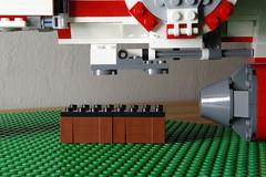magneclamps Retracted (Evrant) Tags: star wars hammerhead corvette interior custom moc lego spaceship