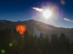 Orange is the new backlight (SLpixeLS) Tags: switzerland suisse chateaudoex balloon montgolfière backlight contrejour festival international parmigiani