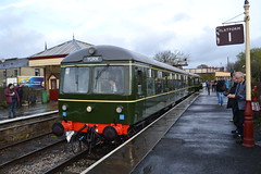 Class 105 Sc51485 & E56121 (Will Swain) Tags: east lancs railway diesel railcar weekend 4th november 2017 elr lancashire preserved north west train trains rail railways transport travel uk britain vehicle vehicles country england english scenic class 105 sc51485 e56121 51485 56121 56171