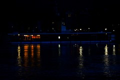 Dinner on water (Lalas.Photography) Tags: dinner boat water neckar river fluss lights darkness eos eos600d canon canoneos600d 600d 18years photography photographer photo heidelberg schiff essen restaurant food