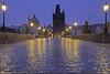 Mattina di pioggia / Rainy morning (Charles Bridge, Prague, Czech Republic) (AndreaPucci) Tags: charlesbridge prague czechrepublic andreapucci rain morning tower oldtown