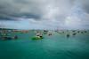 MircK - Fisherman's boats (imNOTaPh) Tags: bali fishermansboats boat sea sky landscape blue asia indonesia ontheroad roadtrip travel travelphotography nikon d3100 mirck