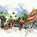 Sketches from Laos