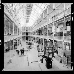 Bronica SQ-A-046-001 (michal kusz) Tags: national museum scotland bronica sqa ilford hp5 1600iso zenzanon s 40mm ilfosol 3 114 27min epson v600 edinburgh sq 6x6 1600 pushed film frame format medium bw blackandwhite interior