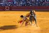 Sevilla. A force égal, on pousse des cris! (Michèle Aime Escudero) Tags: taureau seville corrida torero matador