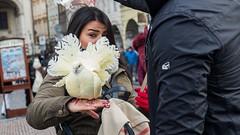 * (Timos L) Tags: woman lady look eye pigeon street candid portrait urban contact olympus em5ii panasonic 1235 123528 timosl