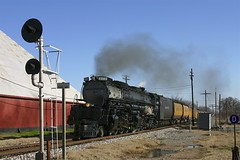 UP 3985 - Corsicana TX. (KB5WK) Tags: unionpacific up3985