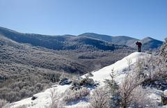 Hiking North Sugarloaf, New Hampshire (jtr27) Tags: dscf6718xl jtr27 fuji fujifilm xt20 xtrans xf 1855mm f284 rlmois lm ois landscape mountain winter snow sugarloaf whitemountains newhampshire nh newengland hike hiking