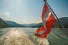 Austrian Flag (fotofrysk) Tags: flag austiranflag red white donauriver thedanube river trees green hills easterneuropetrip melkkremscruise austria oesterreich sigma1750mmf28exdcoxhsm nikond7100 201709288900