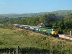 47150 Irwell Vale by Nigel Valentine - East Lancashire Railway  diesel gala September 2003 , 47150 visiting from Freightliner .