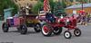 Tractor Patriots (walkerross42) Tags: parade tractor wagon 4thofjuly independenceday prairiecity oregon union uniforms flag