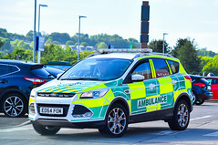 EO64FOM (firepicx) Tags: ambulance 999 emergency uk british blue lights sirens north east northumbria eo64fom