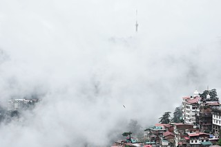 Shimla in the clouds