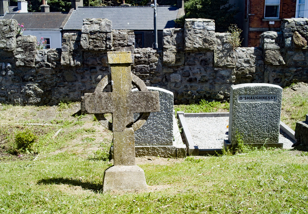 BACK IN JANUARY 2009 I VISITED THE OLD GRAVEYARD IN HOWTH [I HAD TO LEAVE BECAUSE I WAS ATTACKED BY GULLS]-135894