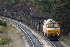 RSM-Danesa_en_El_Valle (RaúlSM) Tags: 312301 comsa mziii nohab pxx asturias españa spain norteamericano coniferas ferrocarril ensidesa el valle tren train railway railroad locomotive coal bosque carbon carbonero aboño diesel doble via locomotora danesa