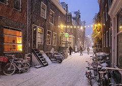 To build a snowman... and then go for a beer! (B℮n) Tags: tweedeleliedwarsstraat amsterdam snow covered bikes bycicles holland netherlands canals winter cold wester church jordaan street anne frank house dutch people scooter gezellig cafés snowy snowfall atmosphere colorful windows walk walking bike cozy boat light rembrandt water canal weather cool sunset file celcius mokum grachtengordel unesco world heritage sled sleding slee seagulls meeuwen bycicle 1°c shadows sneeuw slippery glad flakes handheld wind nieuweleliestraat café denieuwelelie heineken snowman rolling sneeuwpop rollen 50faves topf50 100faves topf100 200faves topf200