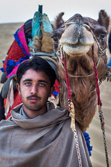 Dildar Khan (Harshal Orawala) Tags: india 121clicks natgeo man eyes portrait camel lights