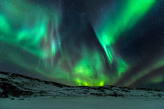 From the Darkness (Mr F1) Tags: norway auirora borealis lake frozen ice colour show wow bright shapes streaks johnfanning europe