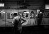 Giving an earful (Blue Nozomi) Tags: anne curtis ad train lrt gil puyat buendia station manila philippines light rail transit