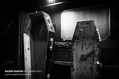 Dracula's Cabaret - Melbourne sale (Naomi Rahim (thanks for 3.8 million visits)) Tags: draculas cabaret dinnertheatre 2018 melbourne 2017 victoria australia history props costumes macabre gothic nikon nikond7200 spooky halloween bw blackwhite coffins theatre stage quirky lowlight dark carlton