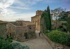CK walking in Pals (mfenne) Tags: marlowe fenne drala images pals catalunya leica color castle medieval city ck wide angle spain
