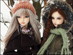 Snowy day .... (Essential Resinescence) Tags: poupee doll bjd resin feeple mirwen fla60 fairyland
