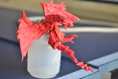 Take a Break from Your Quests to Check Out this Fantastic Monster Hunter Origami (Origami.me) Tags: origami papercraft papercrafts paper craft crafts diy fold folding monsterhunter monsterhunterworld monster hunter world rathalos