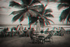 Las Terrenas, Dominican Republic (DDDavid Hazan) Tags: dominicanrepublic dominican republic lasterrenas beach restaurant palm tree ocean caribbean tourists anaglyph 3d 3danaglyph 3dstereophotography redcyan redcyan3d stereophotography stereo3d traveltphotography travel